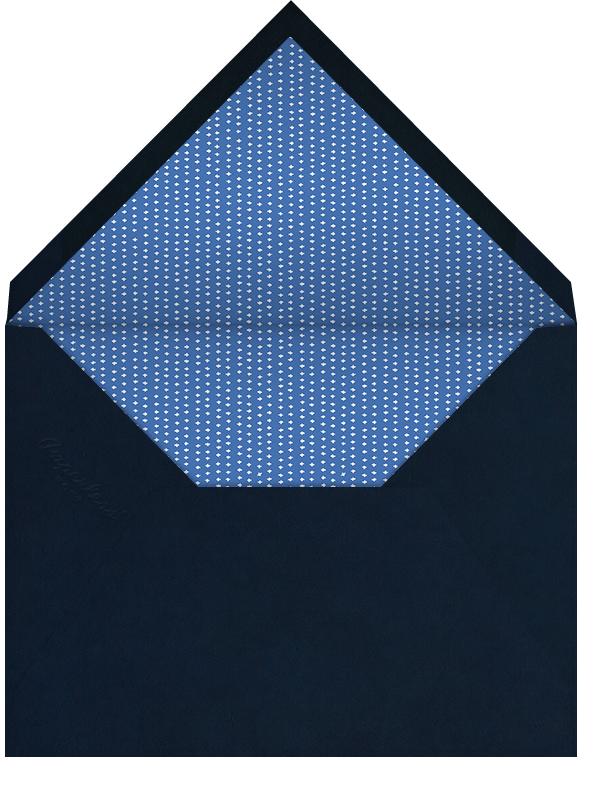 Light Blue Double Striped - Paperless Post - Envelope