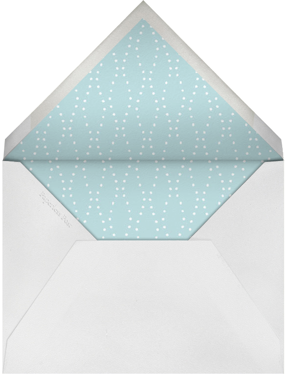 Lily of The Valley - Thinking of You (Light Blue) - Paperless Post - Sympathy - envelope back
