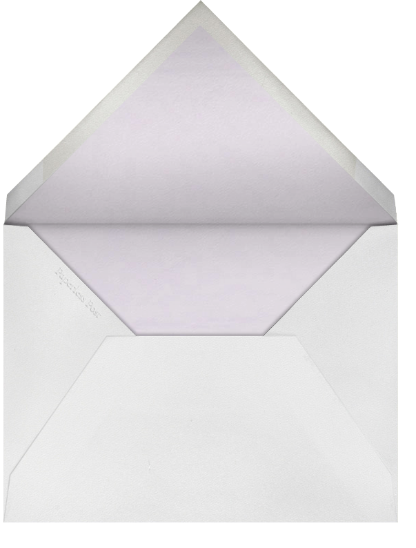 Roses- Lilac with Oyster (Square) - Paperless Post - Envelope