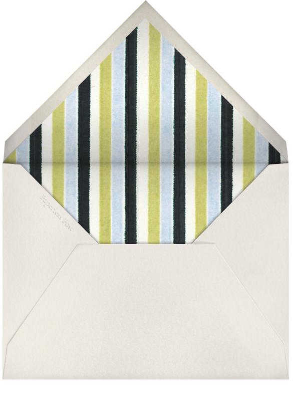 Peacock (Midnight) - Paperless Post - Envelope