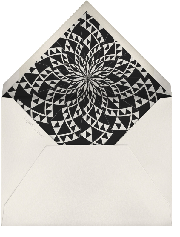 Deco Border - Pitch - Paperless Post - New Year's Eve - envelope back