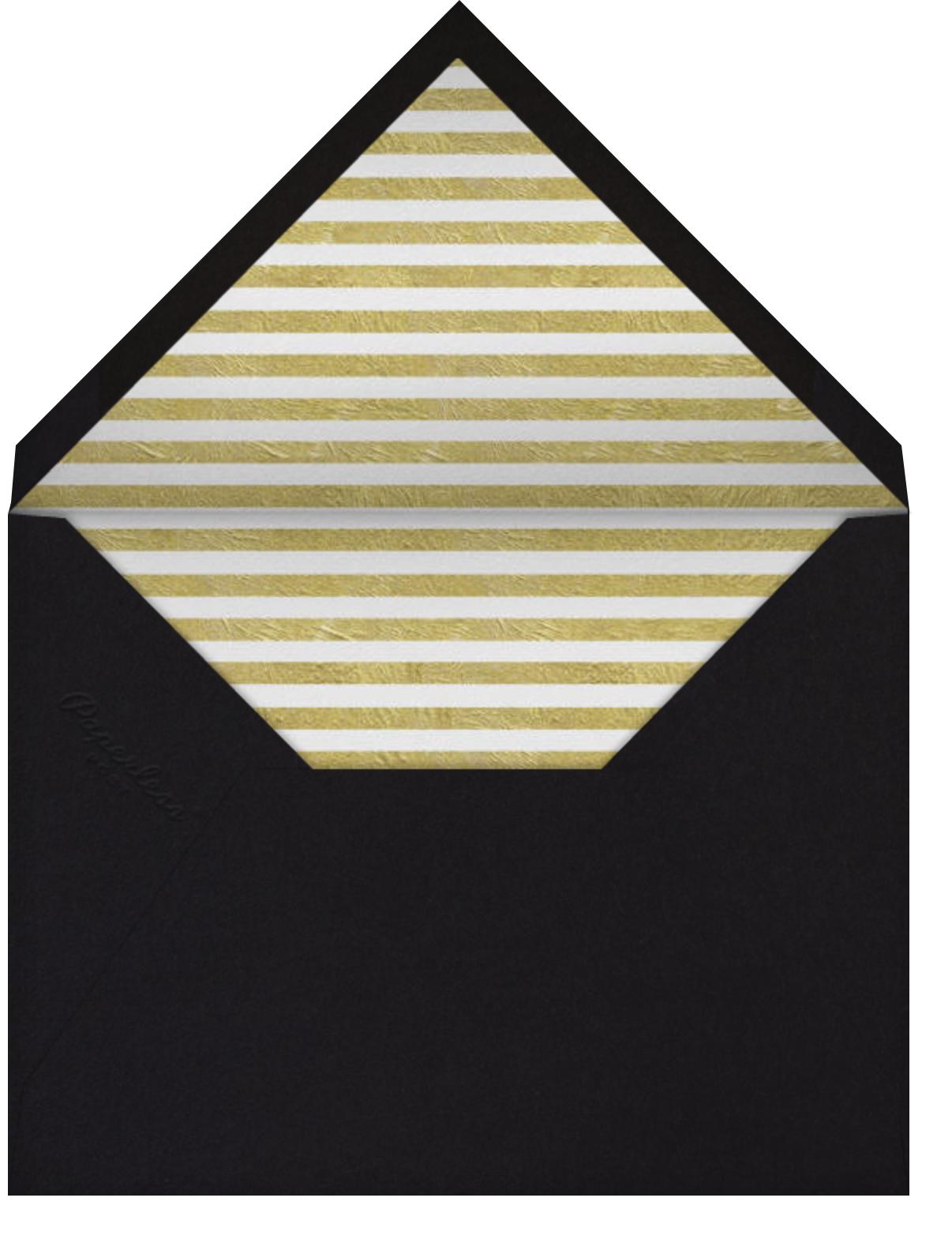 Champagne Gold (black) - Paperless Post - Adult birthday - envelope back