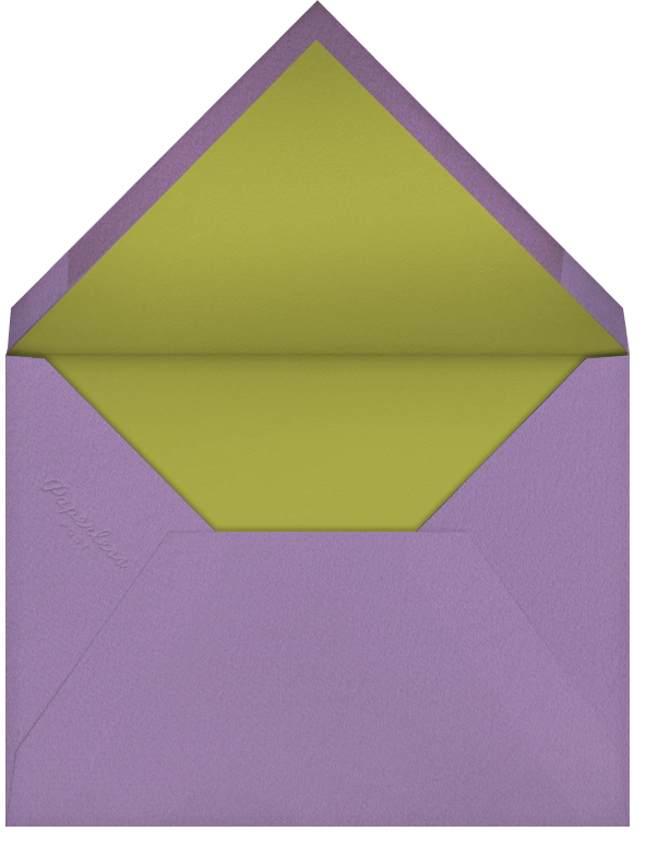 Hand Painted Butterfly - Green Pink - Bernard Maisner - General entertaining - envelope back