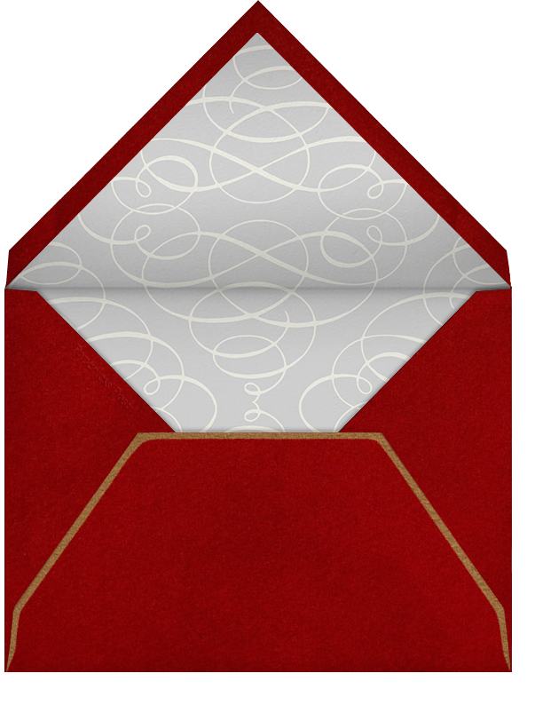 Classic Heart - Paperless Post - Valentine's Day - envelope back