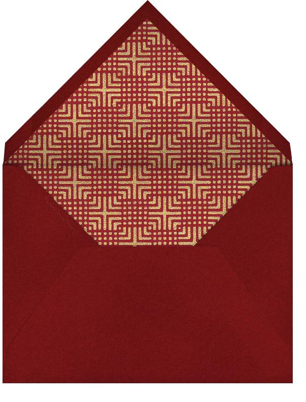 Pavilion Border - Paperless Post - Lunar New Year - envelope back