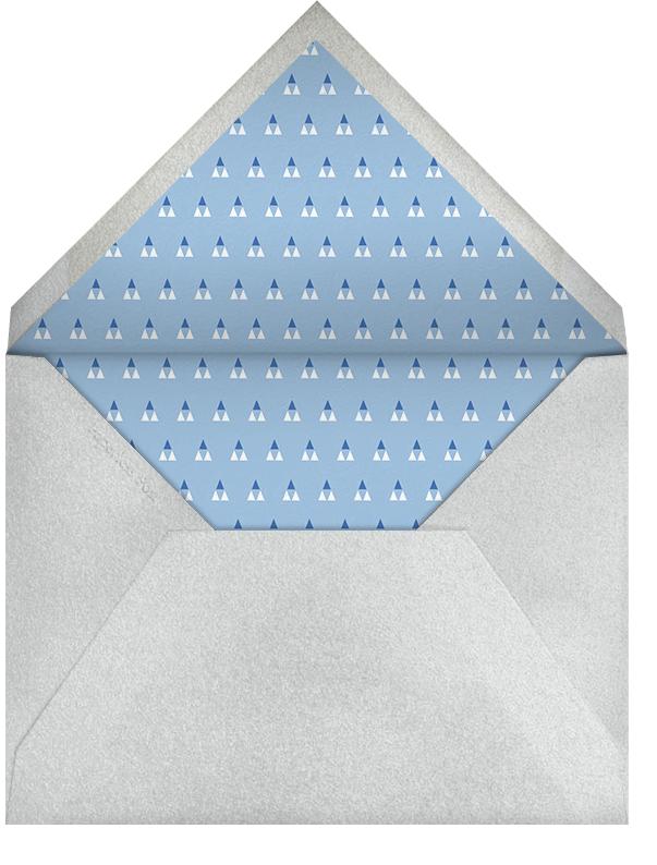 Halston - Paperless Post - Hanukkah - envelope back