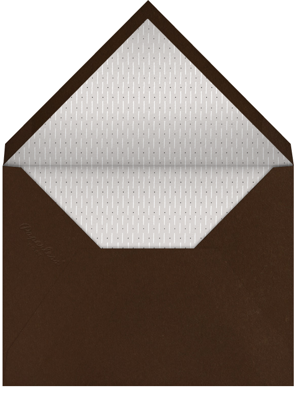 Blue Velvet Ribbon - Paperless Post - General entertaining - envelope back