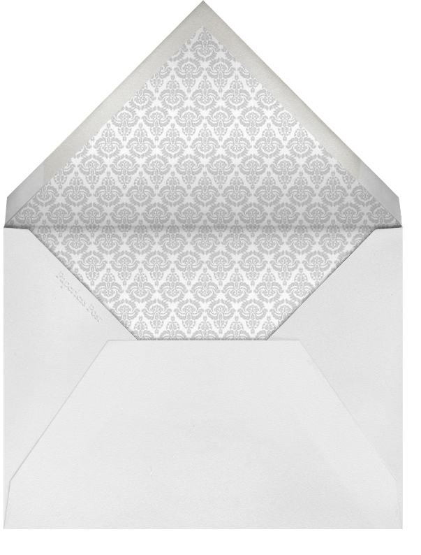Lily of The Valley - Thinking of You (Warm Gray) - Paperless Post - Sympathy - envelope back