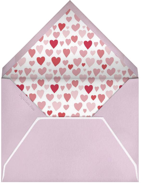 Kissing Pigs - Linda and Harriett - Valentine's Day - envelope back