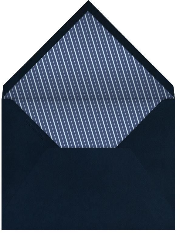 Matterhorn (Large Tall) - Paperless Post - First communion - envelope back