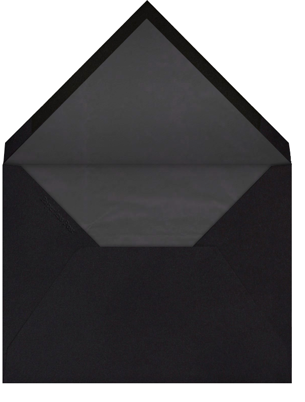Flourish - Cream Black - Bernard Maisner - Envelope