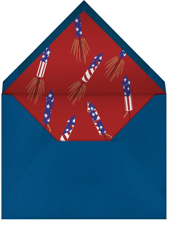 Stars Crimson - Paperless Post - Envelope