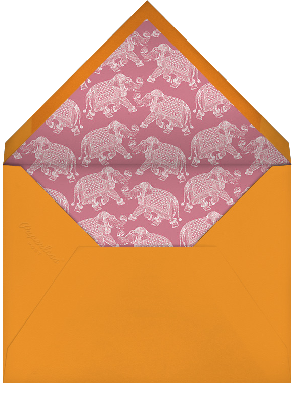 Happy Birthday - Kumquat - Bernard Maisner - Birthday - envelope back