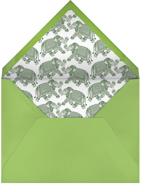 Happy Birthday - Charterhouse - Bernard Maisner - Envelope