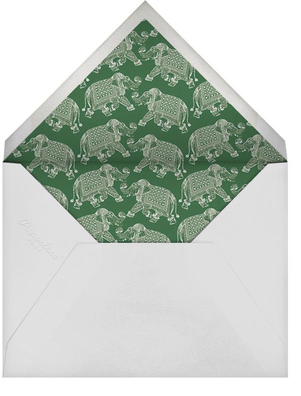 Happy Birthday - Blue - Bernard Maisner - Birthday - envelope back