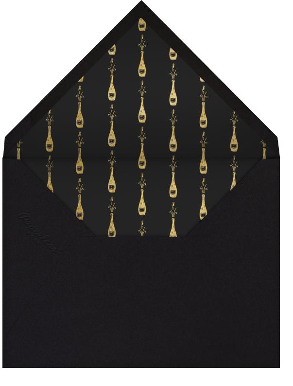 Waldorf - Gold Black - Paperless Post - General entertaining - envelope back