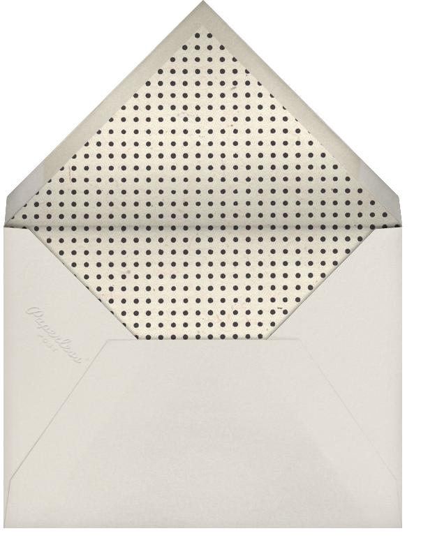 Waldorf - Gold Black - Paperless Post - Envelope