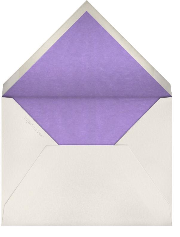 Edge Stain - Lilac Horizontal - Paperless Post - Wedding - envelope back