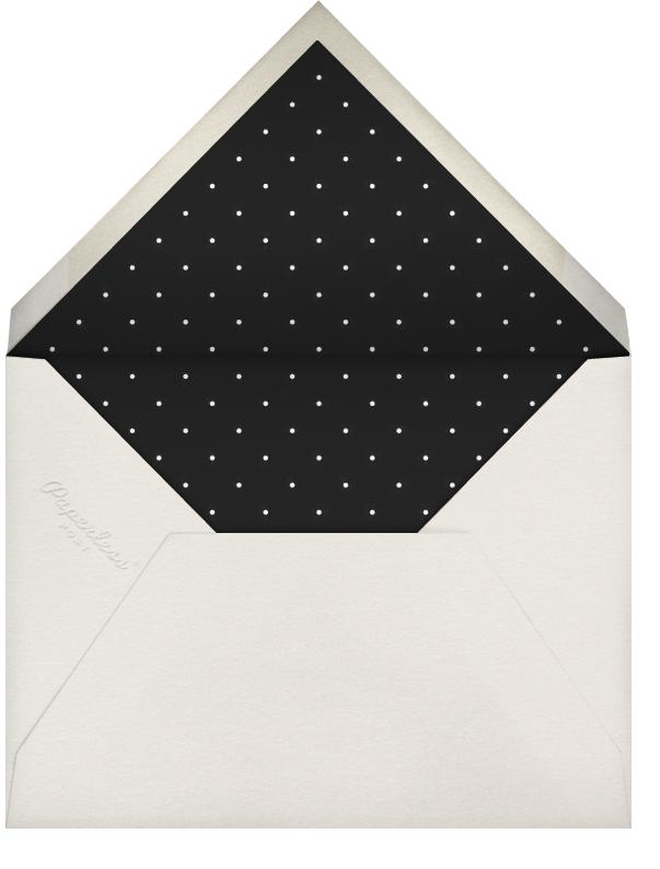 Gold Leaf - Cream - Paperless Post - Autumn entertaining - envelope back