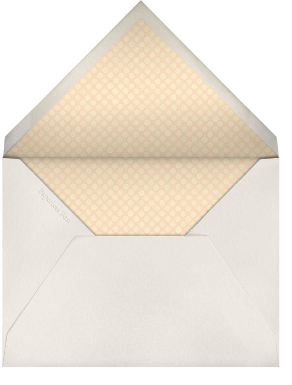 Deckle - Pumpkin Tall - Paperless Post - Envelope
