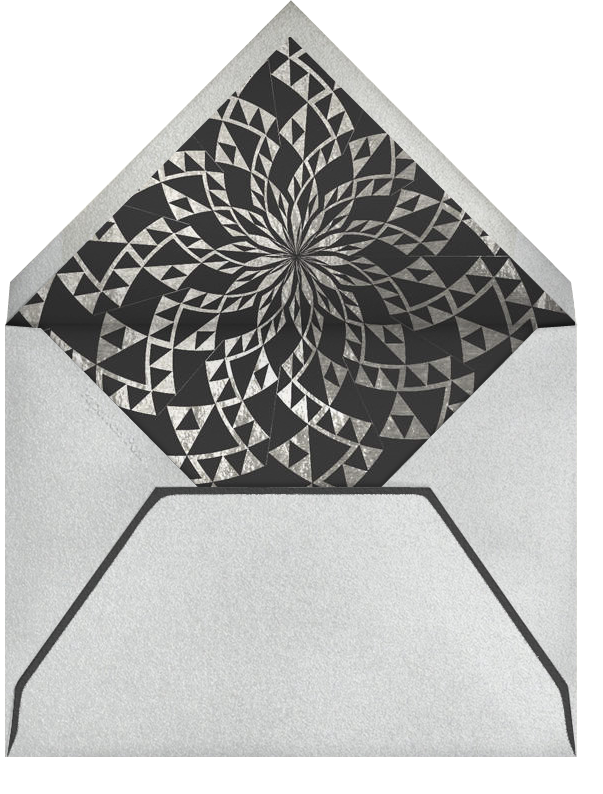 Deckle - Silver Square - Paperless Post - null - envelope back