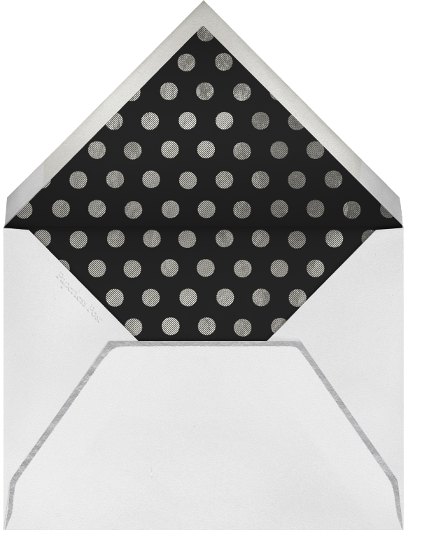 Deckle - Silver Tall - Paperless Post - New Year's Eve - envelope back