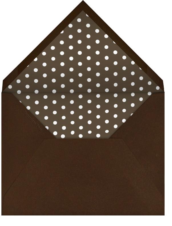 Cut Paper Turkey - Pumpkin - Paperless Post - null - envelope back