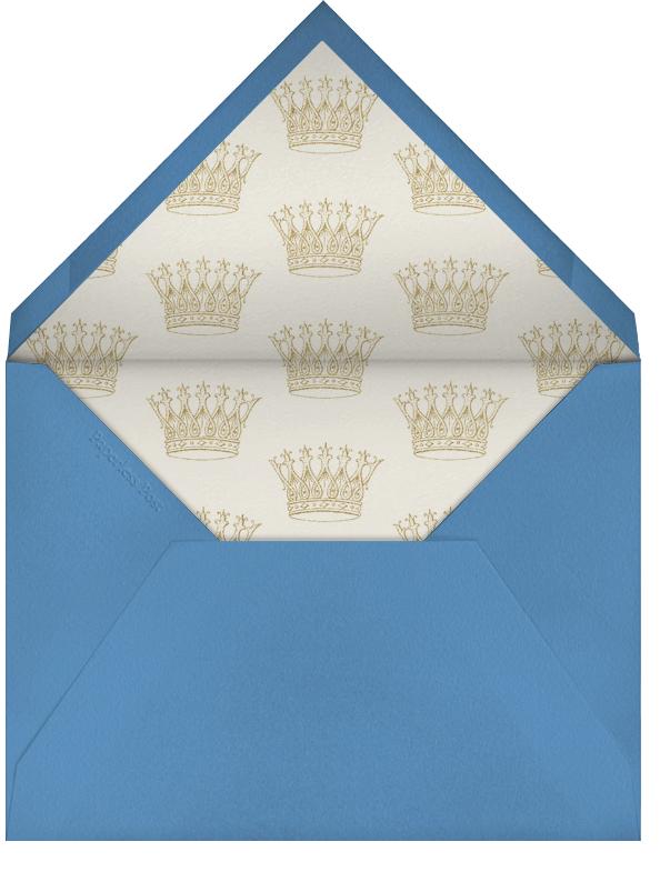 Hand Painted Peacock - Double Peacock - Bernard Maisner - Anniversary cards - envelope back
