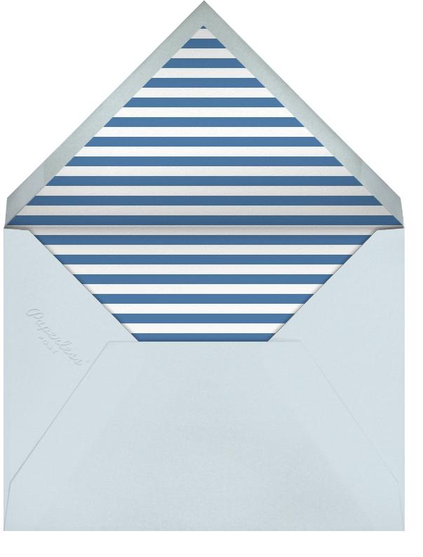 Star Of David Pattern - Ivory - Paperless Post - Rosh Hashanah - envelope back