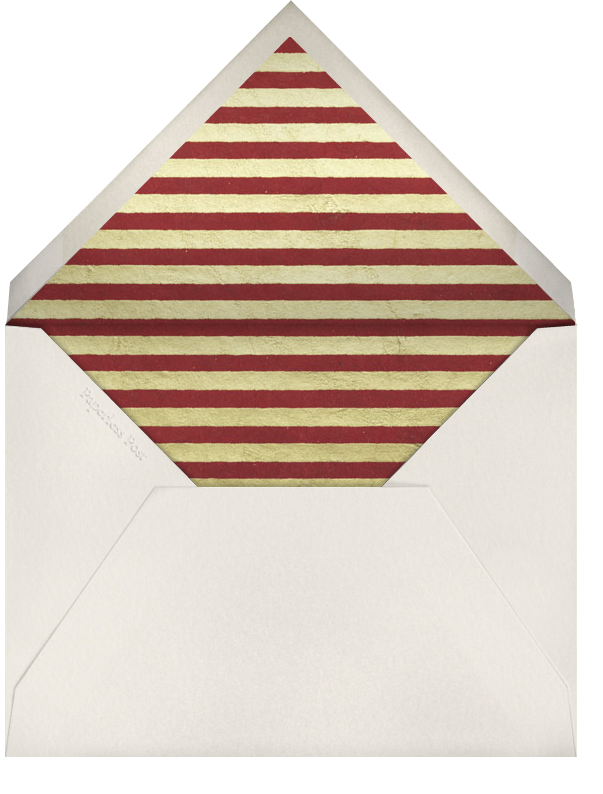 The Magi - Paperless Post - Christmas - envelope back