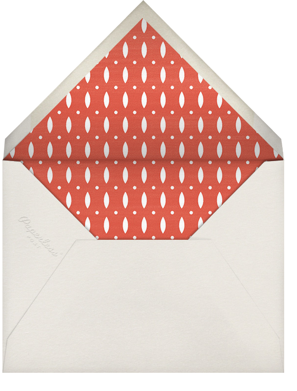 Kwanzaa - Seven Candles - Paperless Post - Kwanzaa - envelope back