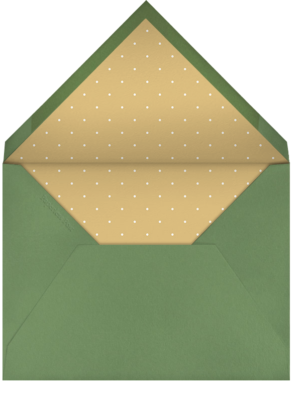 Tree Trimming - You're Invited - Paperless Post - Christmas party - envelope back