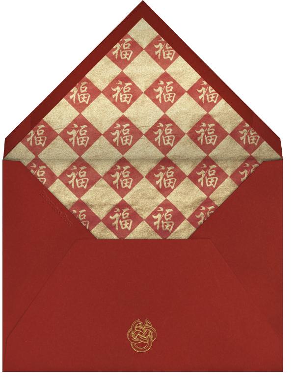 Paper Dragons - Paperless Post - Lunar New Year - envelope back