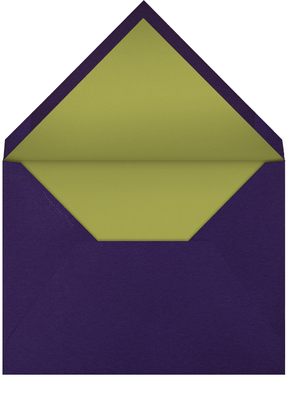 Deckle - Purple Square - Paperless Post - Mardi Gras - envelope back