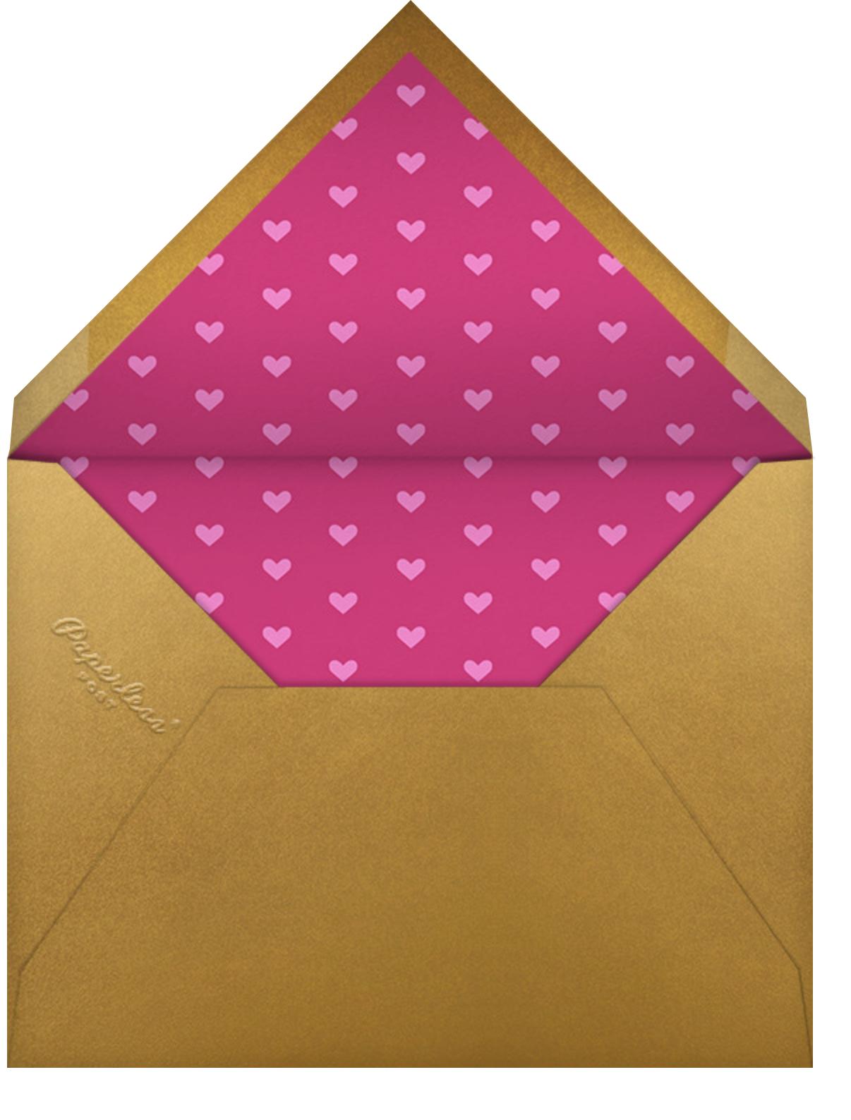 Zebra Love - Paperless Post - Envelope