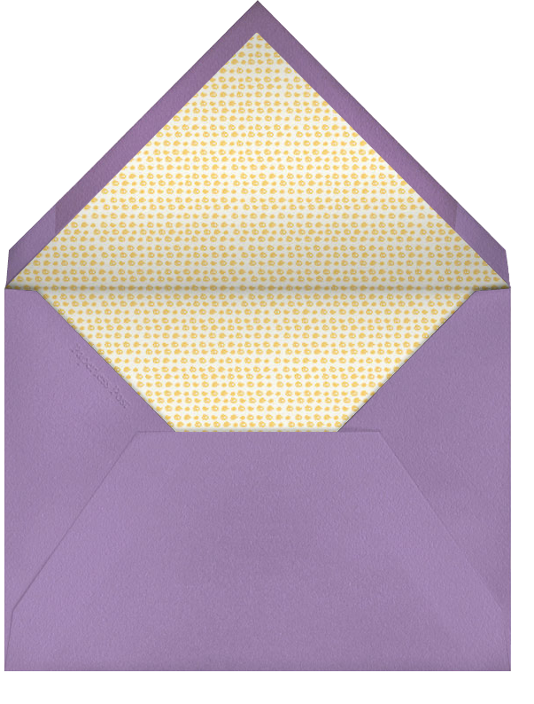 Bamboo Trellis - Lilac (Tall) - Paperless Post - General entertaining - envelope back
