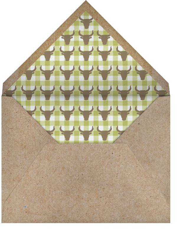 Happy Birthday Cowgirl - Paperless Post - Envelope