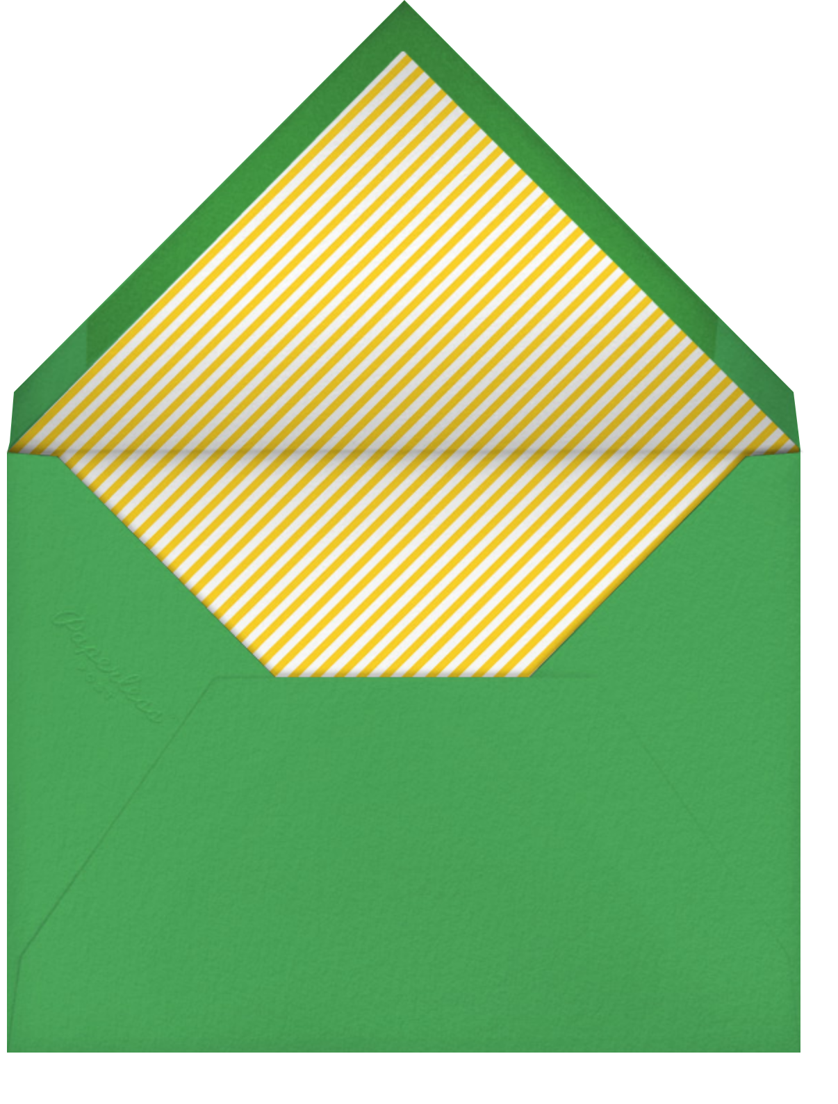 Number One Dad - Paperless Post - Father's Day - envelope back