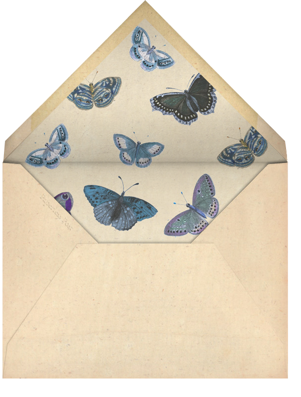 Acontitum - John Derian - Spring entertaining - envelope back