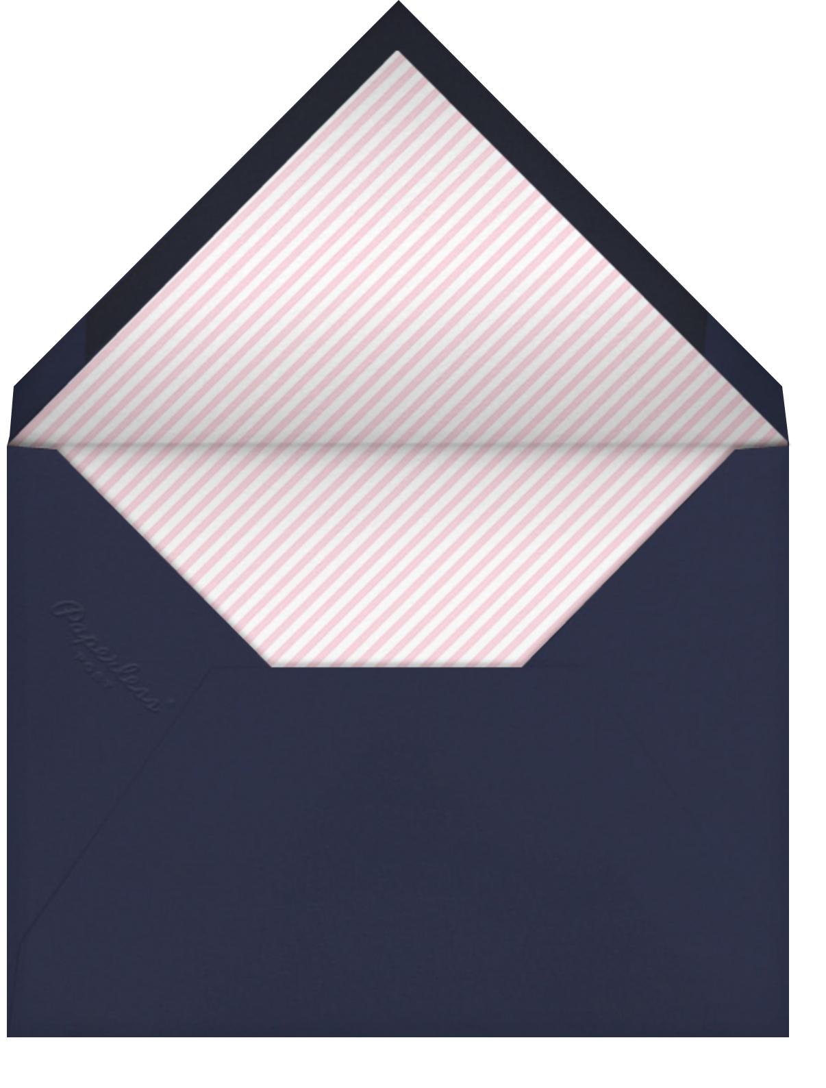 You Mean the World to Me - Navy - Paperless Post - Envelope