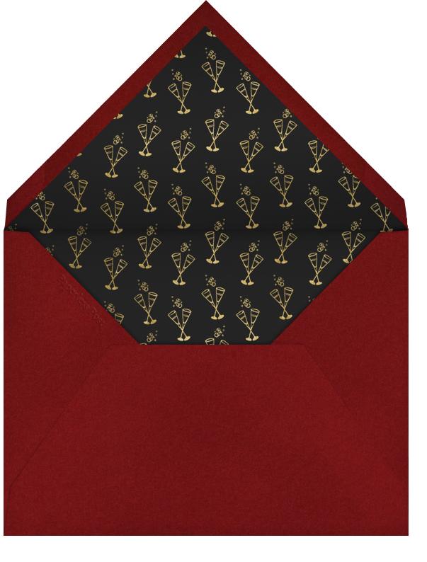 Red Carpet - Paperless Post - Adult birthday - envelope back