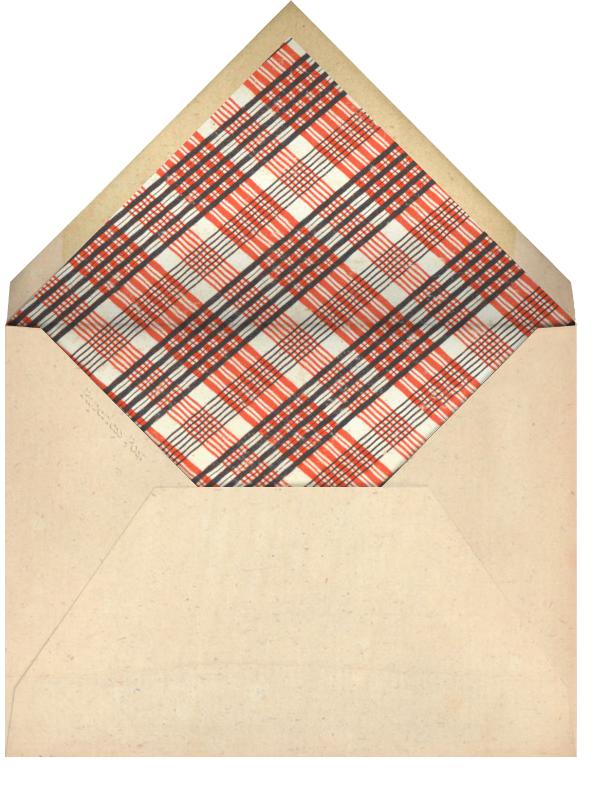 Red Letter - S - John Derian - Adult birthday - envelope back