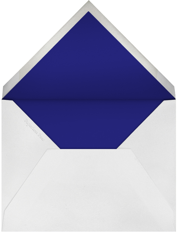 Lincoln Quote - Blood Orange - Paperless Post - Election night - envelope back
