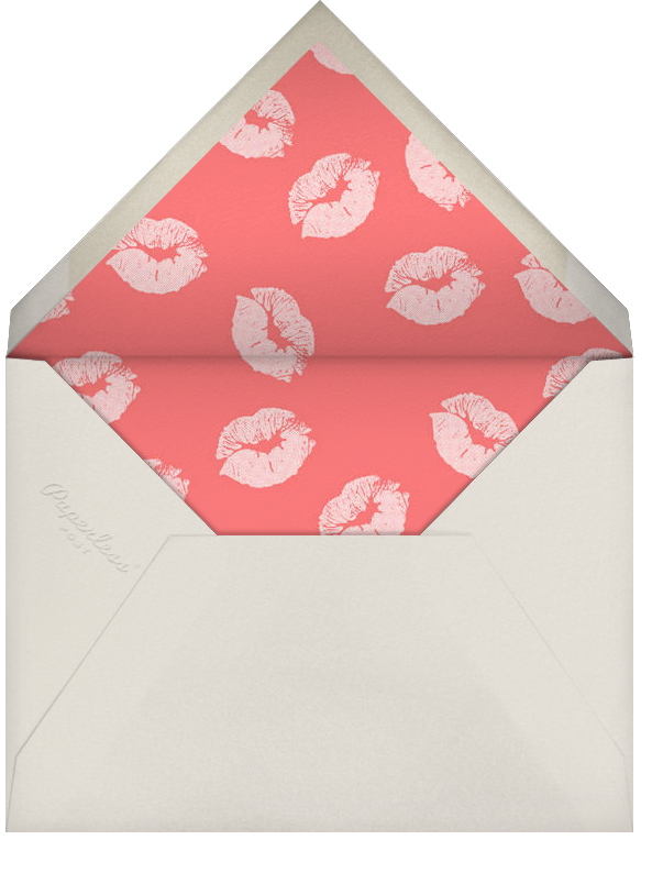 Je T'adore - Paperless Post - Anniversary - envelope back