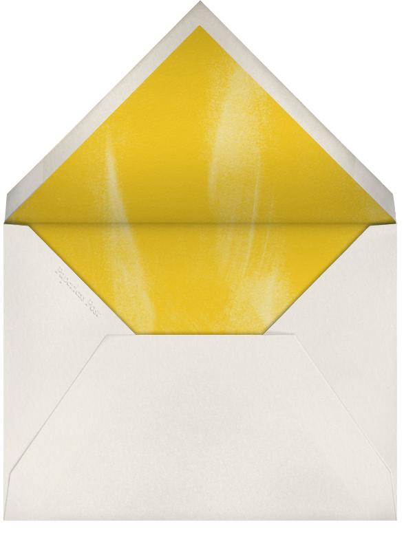 Watercolor Pomegranate - Paperless Post - Autumn entertaining - envelope back