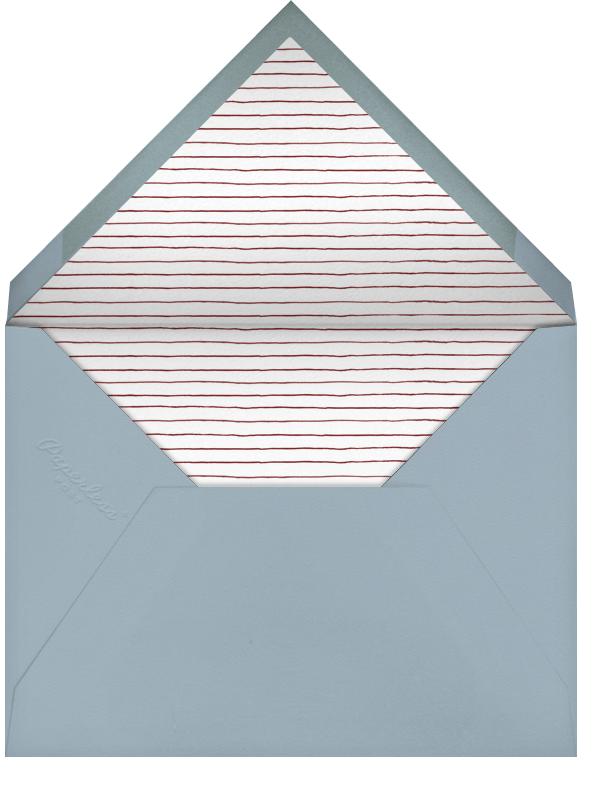 Shofar Horn - Paperless Post - Rosh Hashanah - envelope back