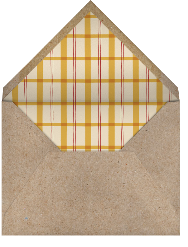 The Table is Set - Paperless Post - Dinner party - envelope back