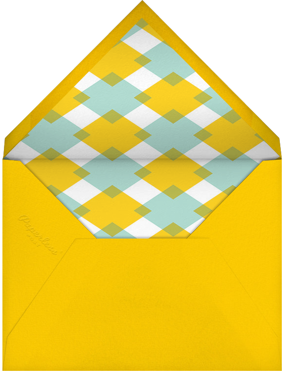 Gobble and Wobble - Crate & Barrel - Thanksgiving - envelope back
