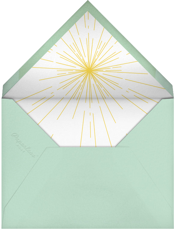 Silent Night - Crate & Barrel - Holiday party - envelope back