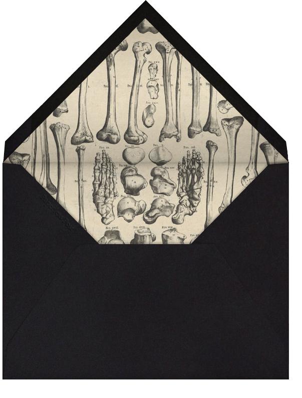 Skeleton - John Derian - null - envelope back